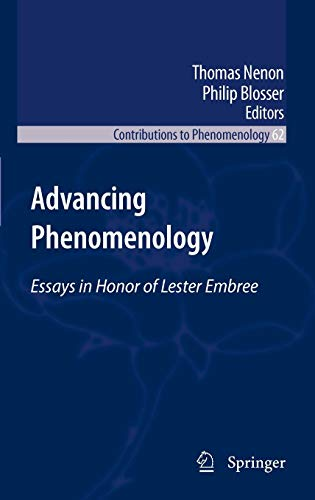 Advancing Phenomenology: Thomas Nenon