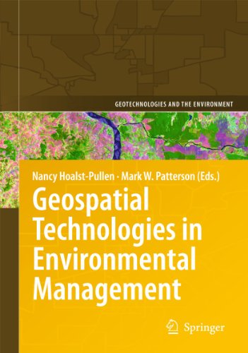 9789048195244: Geospatial Technologies in Environmental Management (Geotechnologies and the Environment)