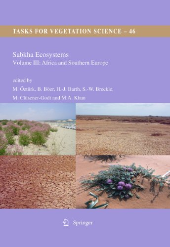 Sabkha Ecosystems: Vol. 3: Volume III: Africa and Southern Europe (Hardback)