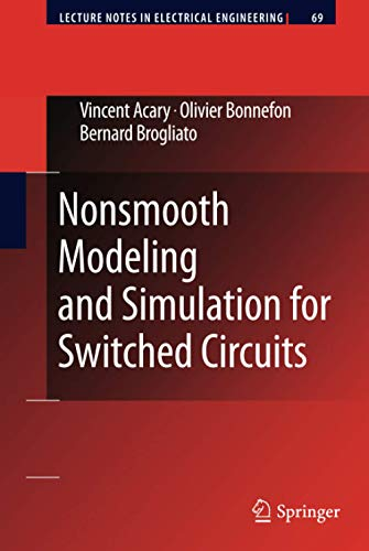 9789048196807: Nonsmooth Modeling and Simulation for Switched Circuits (Lecture Notes in Electrical Engineering)