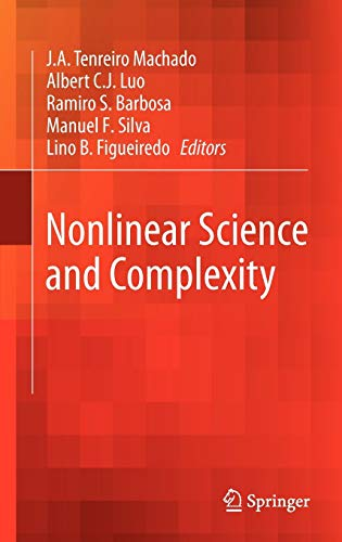 Nonlinear Science and Complexity: Editor-J.A. Tenreiro Machado;
