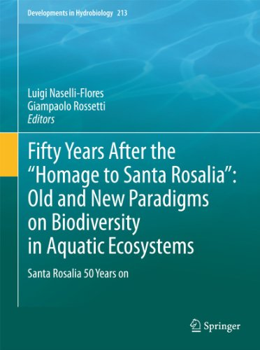 "Fifty Years After the ""Homage to Santa Rosalia"": Old and New Paradigms on Biodiversity in..."