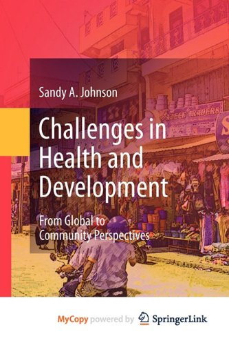 9789048199549: Challenges in Health and Development