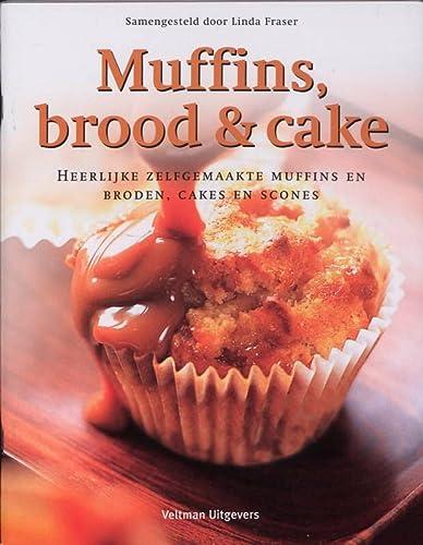 9789048300167: Muffins, brood & cake / druk 1