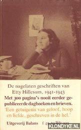 9789050180061: Etty: De nagelaten geschriften van Etty Hillesum, 1941-1943 (Dutch Edition)
