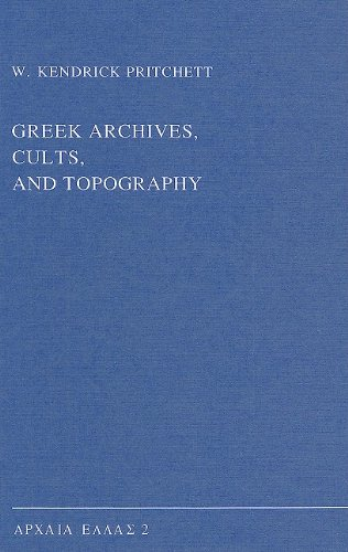 9789050631471: Greek Archives, Cults & Topography (Archaia Hellas Series ; Vol. 2))