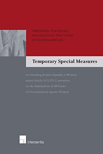 Temporary Special Measures - Accelerating de facto: Boerefijn, Ineke