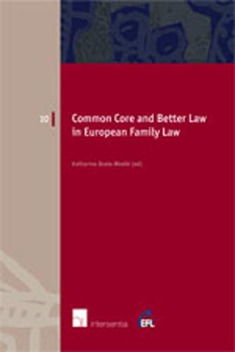 European Family Law in Action: v. III: Boele-Woelki, Katharina; Braat,