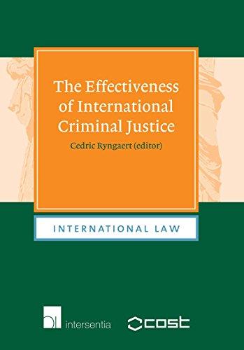 9789050958127: The Effectiveness of International Criminal Justice (International Law)
