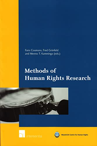 9789050958790: Methods of Human Rights Research (Maastricht Series in Human Rights)