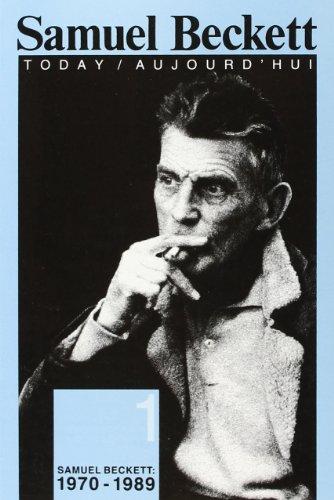 Samuel Beckett: 1970-1989.: BUNING, MARIUS DANIÈLE DE