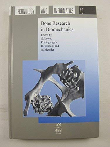 9789051993271: Bone Research in Biomechanics (Studies in Health Technology and Informatics, 40)