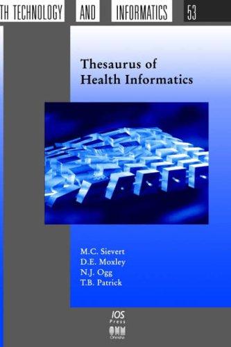Thesaurus of Health Informatics - Sievert, M. C.