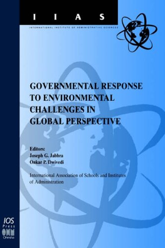 9789051994117: Governmental Response to Environmental Challenges in Global Perspective, (International Institute Administrative Sciences Monographs)