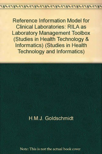 9789051994148: Reference Information Model for Clinical Laboratories, RILA as Loboratory Management Toolbox (Studies in Health Technology and Informatics, 55)