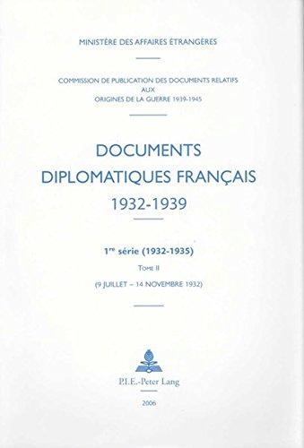 9789052010823: Documents diplomatiques français 1932-1939 (Documents diplomatiques français – 1932-1935, sous la direction de Pierre Renouvin et Jean-Baptise Duroselle) (French Edition)
