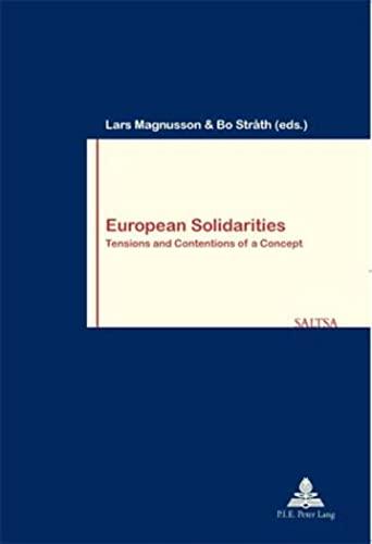 European Solidarities: Bo Stråth (editor),