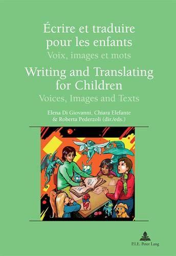 �crire et traduire pour les enfants. Writing