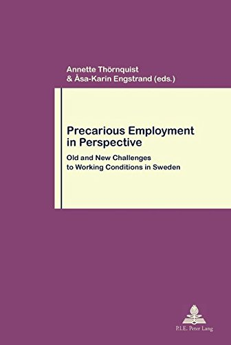 precarious employment Canadian store (cad) understanding precarious employment and its links to labour market institutions, industrial and occupational contexts, gender.