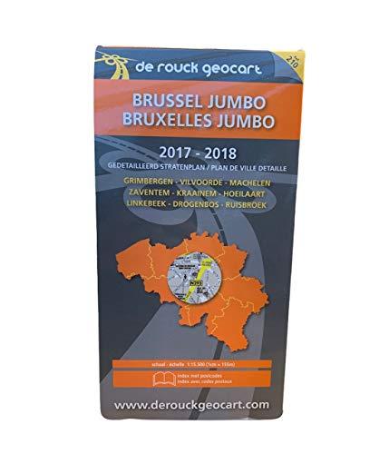 9789052082103: Brussels Jumbo / Bruxelles Jumbo 210 (Geocart)