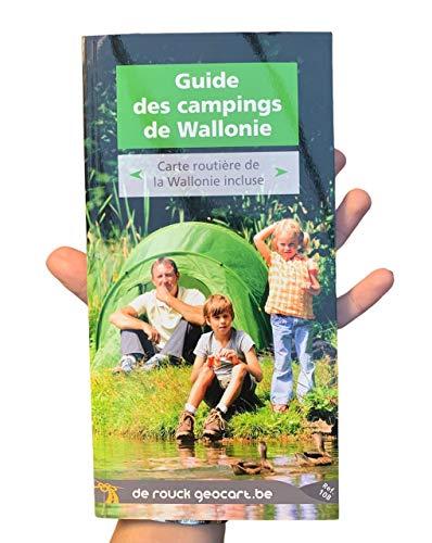 9789052089935: 108 guide des campings de wallonie ? guide + carte (Guide touristique)