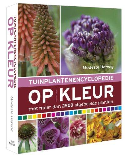 9789052108926: Tuinplantenencyclopedie op kleur: met meer dan 2500 afgebeelde planten