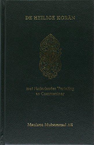9789052680101: De Heilige Koran: Arabische tekst, Nederlandse vertaling en commentaar