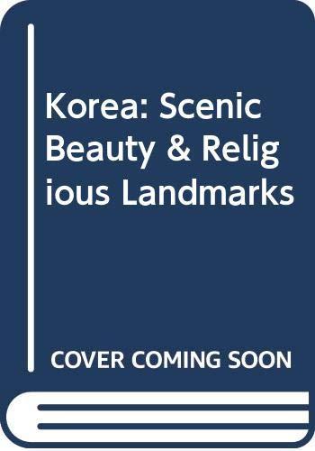 9789053250525: Mark De Fraeye. Korea - Scenic Beauty and Religious Landmarks