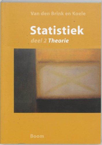 9789053527337: Statistiek 2 Theorie