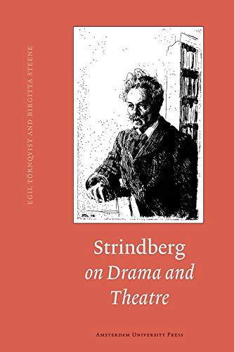 9789053560204: Strindberg on Drama and Theatre