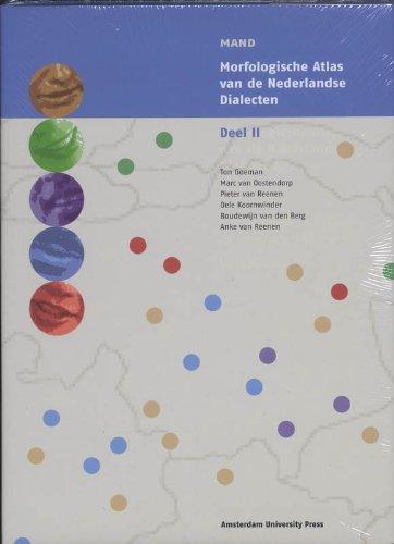 9789053567746: Morfologische Atlas Van De Nederlandse Dialecten: Deel 2 (MAND)