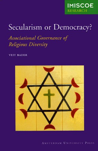 9789053569993: Secularism or Democracy?: Associational Governance of Religious Diversity (IMISCOE Research)