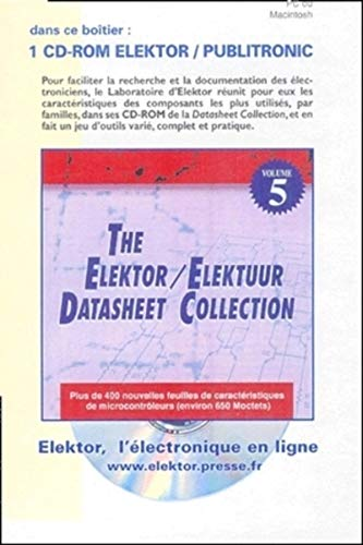 9789053811429: The Elektor Datasheet Collection, volume 5 (Mac-PC)