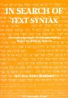 9789053833889: In Search of the Text Syntax: Toward a Syntatic Text-Segmentation Model (Applicatio, Vol 14)