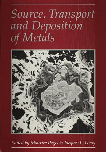 9789054100201: Source, Transport and Deposition of Metals