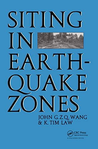 Siting in Earthquake Zones. - Wang, John G Z Q ; Law, K T