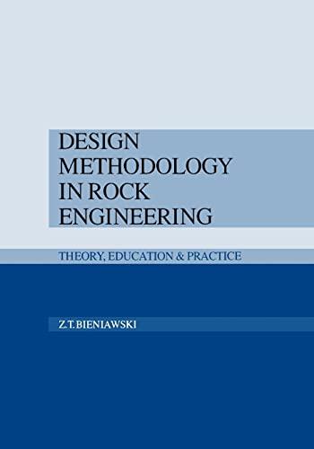 9789054101215: Design Methodology in Rock Engineering