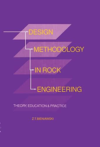 9789054101260: Design Methodology in Rock Engineering