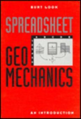 Spreadsheet Geomechanics an Introduc: Look, Burt