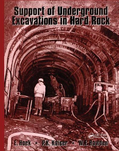 9789054101864: Support of Underground Excavations in Hard Rock
