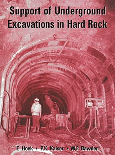 9789054101871: Support of Underground Excavations in Hard Rock