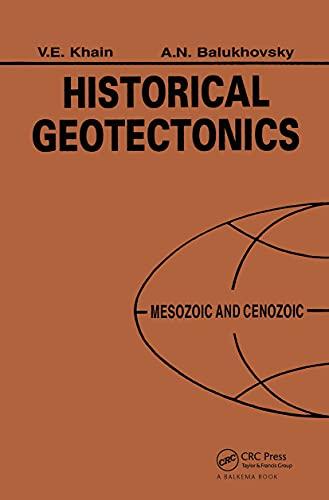 9789054102274: HISTORICAL GEOTECTONICS: MESOZOIC & CENOZOIC (Russian Translation Series)