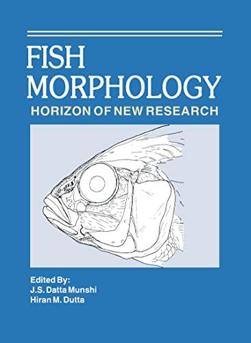 Fish Morphology: Hiran M. Dutta