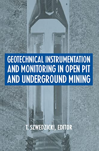 9789054103219: Geotechnical Instrumentation & Monitorin