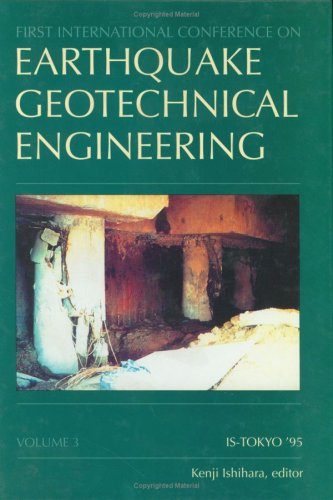9789054105817: Earthquake Geotechnical (V3) Engineering