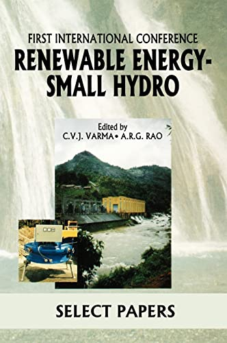 9789054107491: Renewable Energy Small Hydro