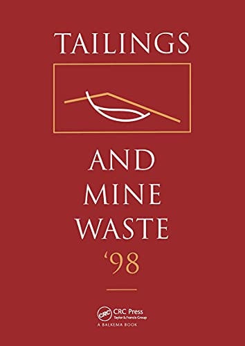 9789054109228: Tailings and Mine Waste 1998