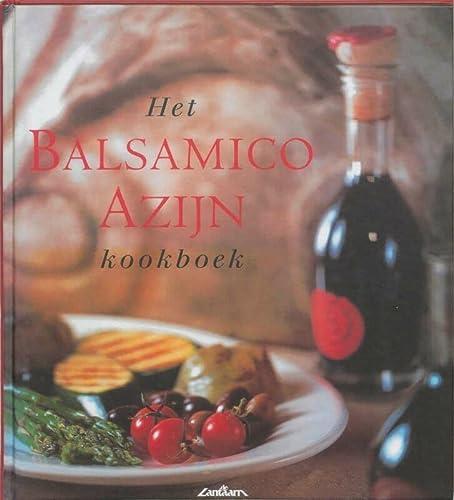 BALSAMICO-AZIJN KOOKBOEK - HALM, M.