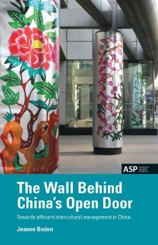 9789054874645: The Wall Behind China's Open Door: Towards Efficient Intercultural Management in China