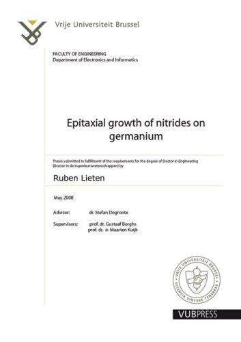 Epitaxial Growth of Nitrides on Germanium: Lieten, Ruben Remco